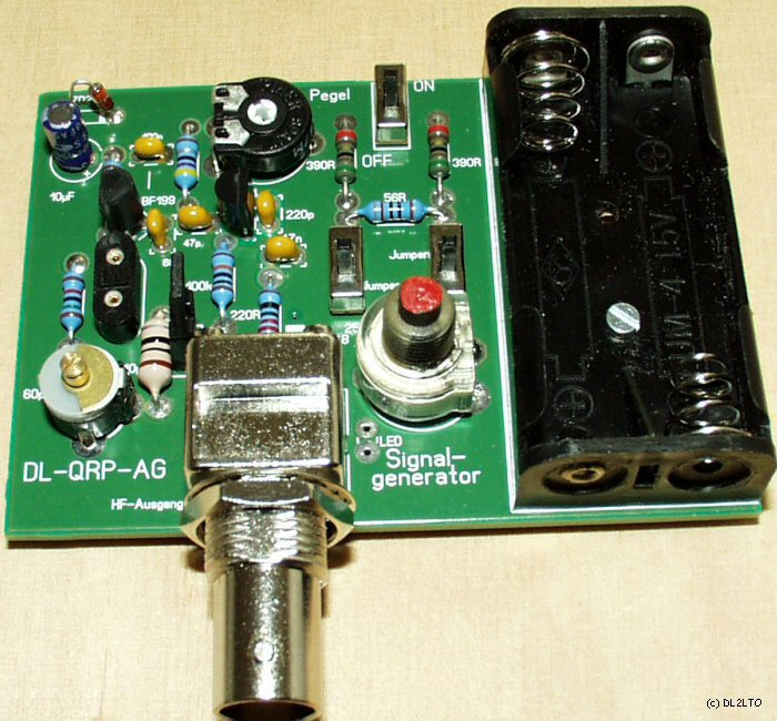 rf signal generator selber machen